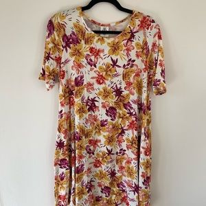 Agnes and Dora, NWT, Size M, floral swing tunic